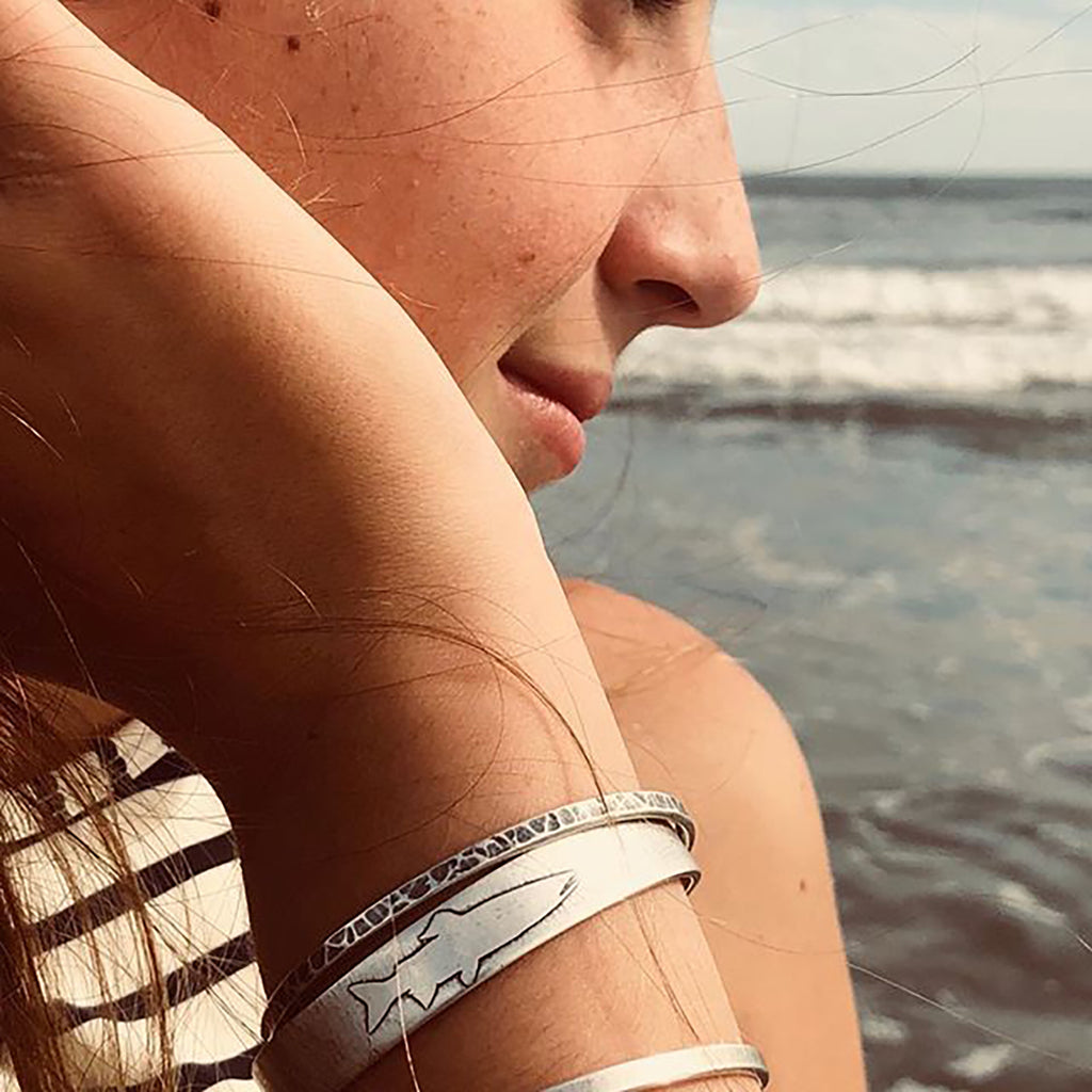 Single Trout Cuff Bracelet, [variant_title], daphne lorna