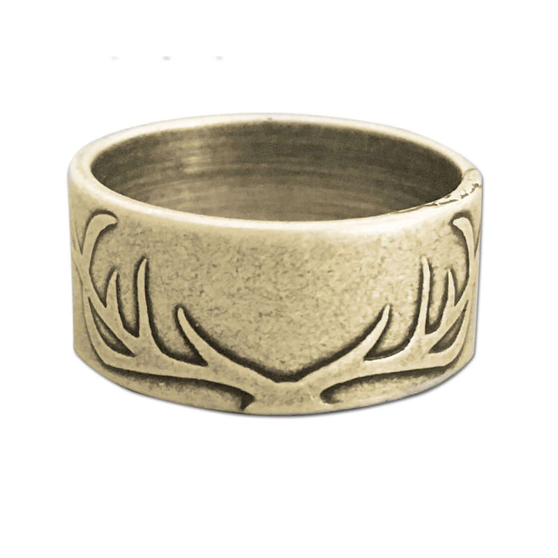 Antlers Ring, Antique Brass / 6, daphne lorna