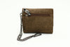Sativa Hemp Mini Wallet with Security Chain