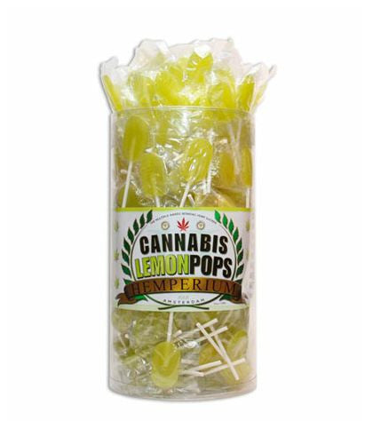 Cannabis Lollipops - Mellow Yellow Lemon