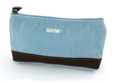Sativa Hemp Cosmetic Case/ Pencil Case