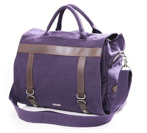 Sativa Hemp Three-Way Shoulder Bag