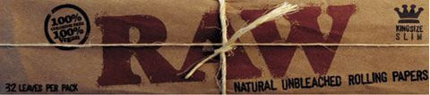 KingSize Slim RAW Natural Rolling Papers