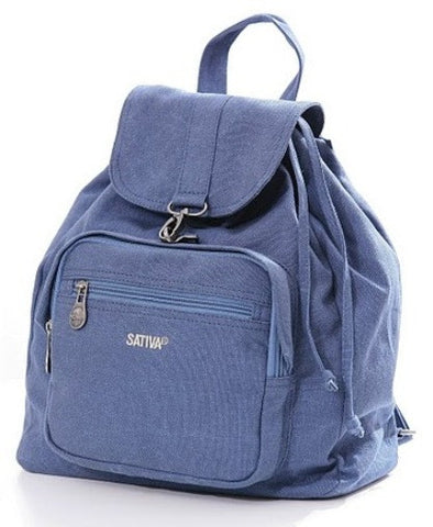 Sativa Hemp Clinch-Closure Rucksack