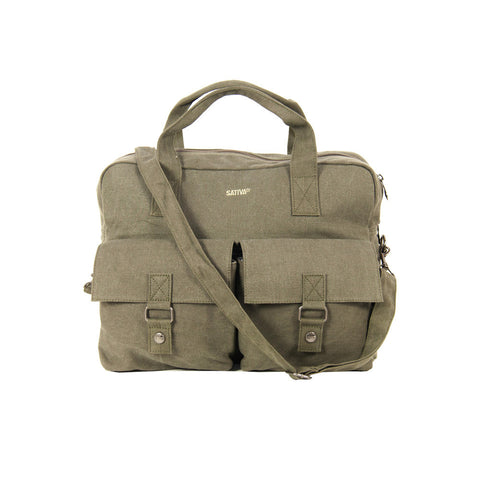 Sativa Hemp Carrying Bag with Shoulder Strap