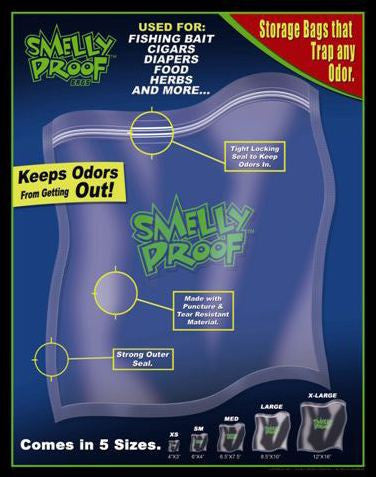 Smelly Proof Storage Bags