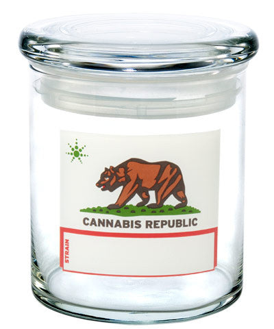 Pop-Top 420 Jar - Cannabis Republic