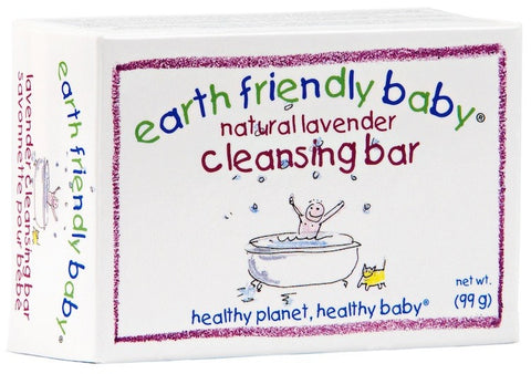 Earth Friendly Baby Natural Lavender Cleansing Bar (99g)