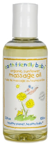 Earth Friendly Baby Natural Unscented Massage Oil (100ml)
