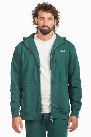 Hemp Hoodlamb Mens Zip-Up Hoody