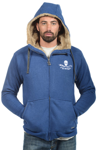 Sea Shepherd x Hemp Hoodlamb Mens Furry Hoody