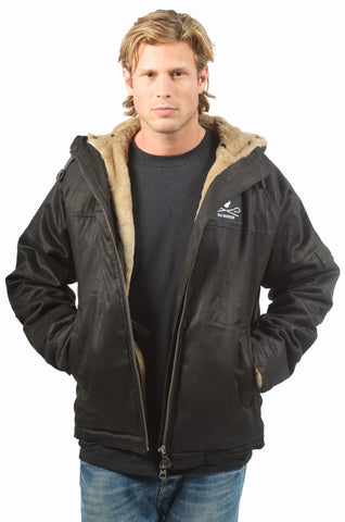 Sea Shepherd x Hemp Hoodlamb Mens Classic Jacket