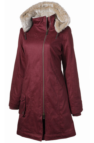 Hemp Hoodlamb Ladies Long Coat - 2014/15