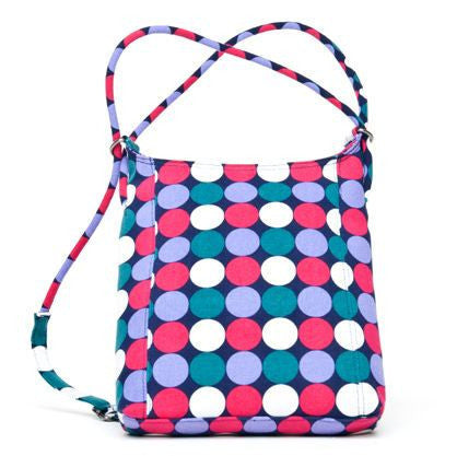 Sativa Hemp Mini Shoulder Bag & Backpack (New Polka Dot Design)