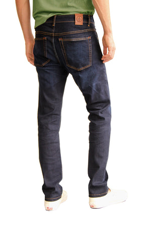 The Best Travel Jeans in the World | Summer Dark Indigo