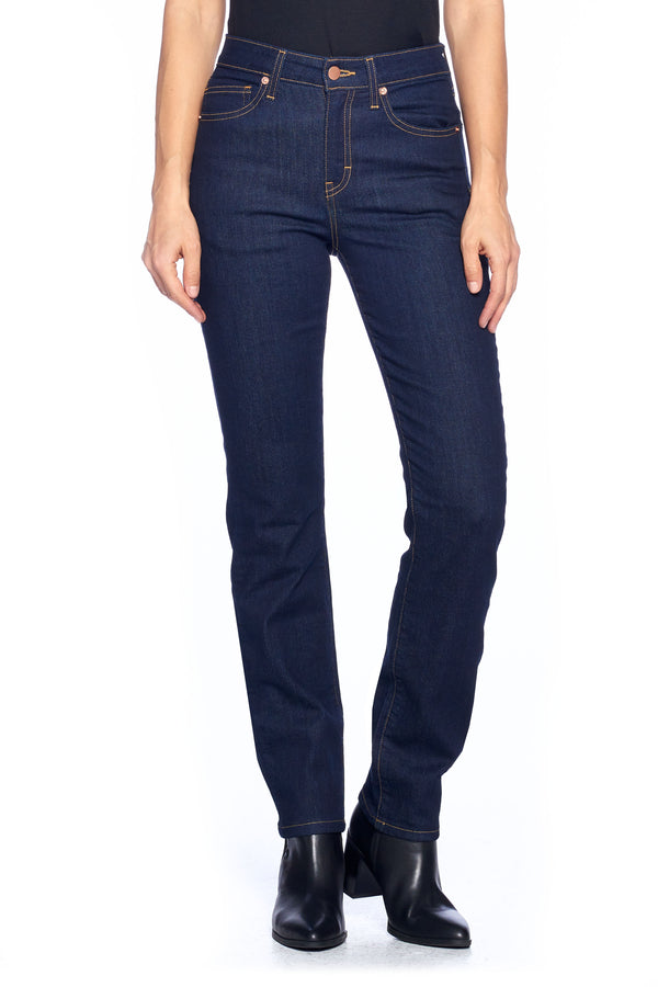 The Best Travel Jeans in the World | Comfort Slim Straight | Dark Indigo