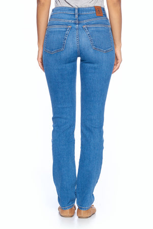 The Best Travel Jeans in the World | Comfort Slim Straight | Faded Indigo
