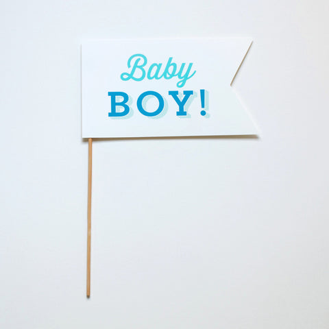 Baby Boy! Photo Prop