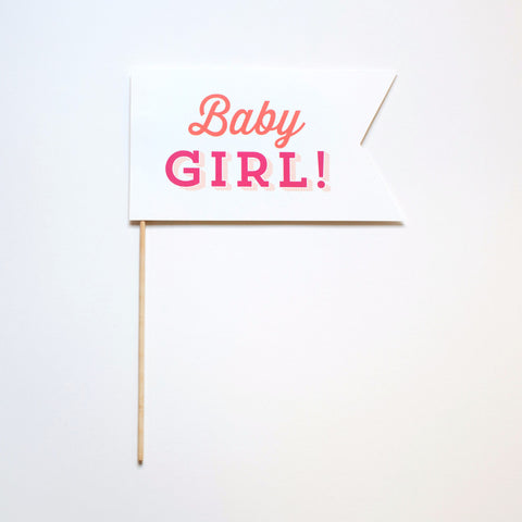 Baby Girl! Photo Prop