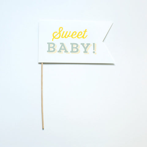 Sweet Baby Photo Prop - Gender Neutral