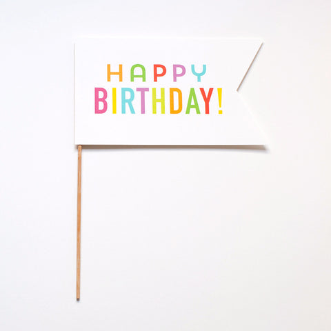 Happy Birthday! Photo Prop