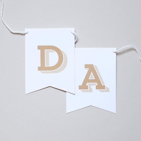 Oh Happy Day Banner - Slab Serif