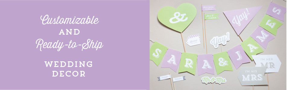 Customizable and Ready to Ship Weddings