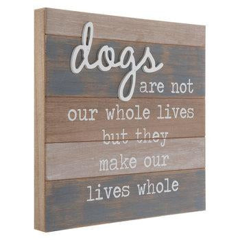 Rustic Dog Sign