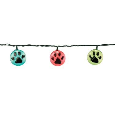 Paw Print Lights