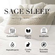 Sage Sleep Wool Topper