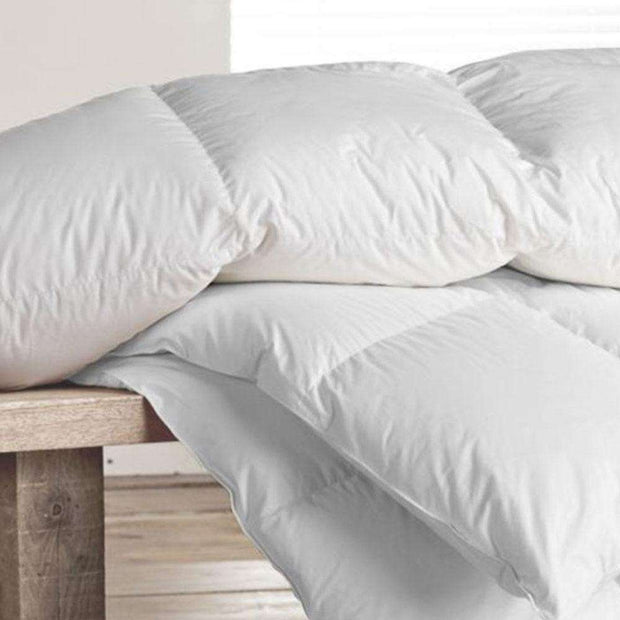 Down comforter by Sage Sleep. Summer, Three Season Weight