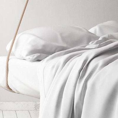 Percale Organic Duvet Cover Set by Sage Sleep