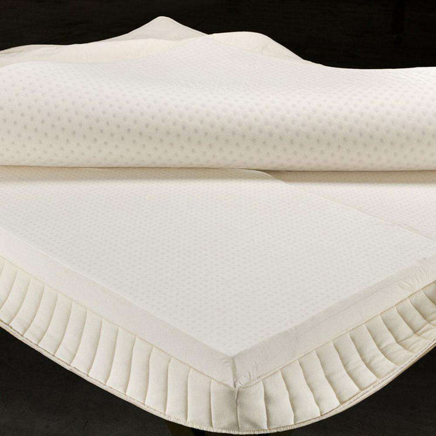 The Devotion Mattress has layers of comfort being shown here.