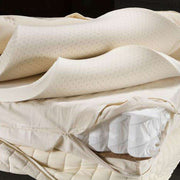 The Serene Mattress by Sage Sleep showing the amazing layers of quality design