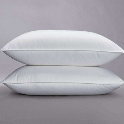 Down pillows by Sage Sleep.