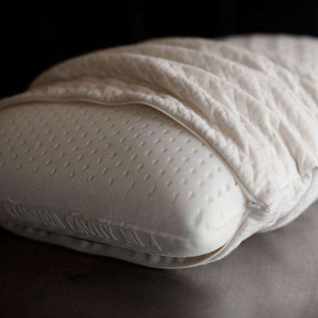 Molded Natural Latex Pillow by Sage Sleep