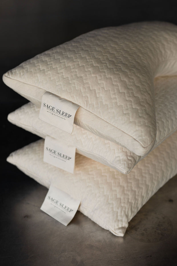 Sage Sleep Organic Pillow Collection