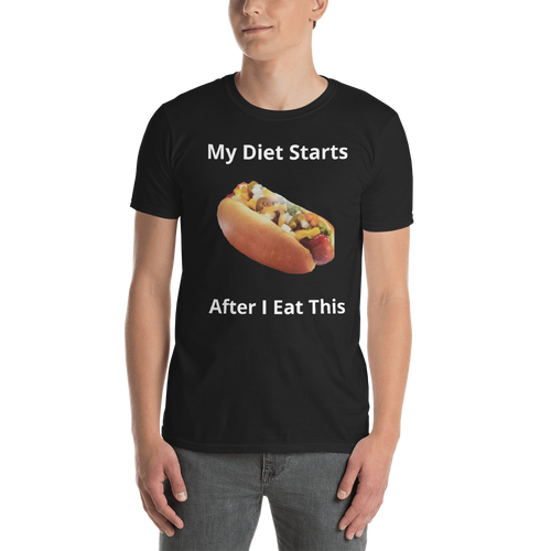 Fathers Day Diet Short-Sleeve Unisex T-Shirt