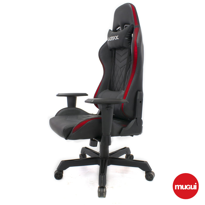 Silla gamer con luz led