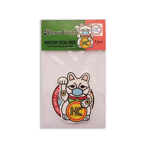 Maneki Decals 2020 - 3 Pack