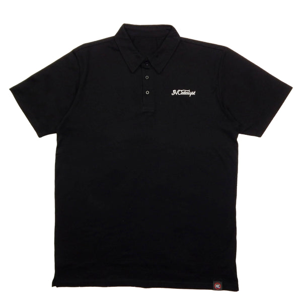 HC.GLF/CLB Signature Polo - Black