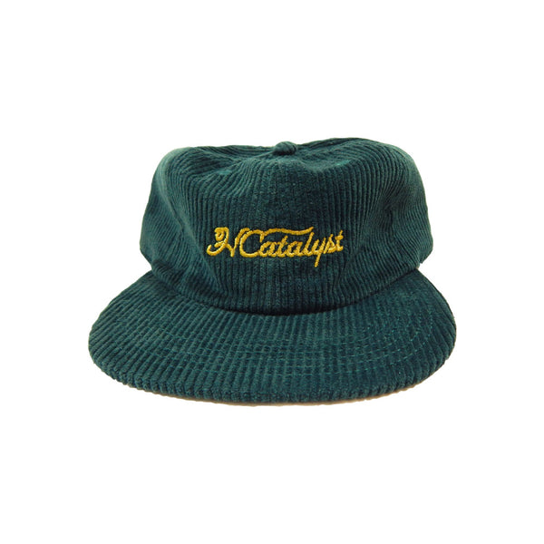 HC.GLF/CLB Wedge Strapback - Dark Green