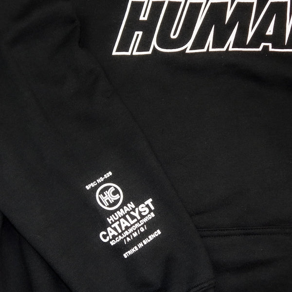 Human Outline Puff - Black