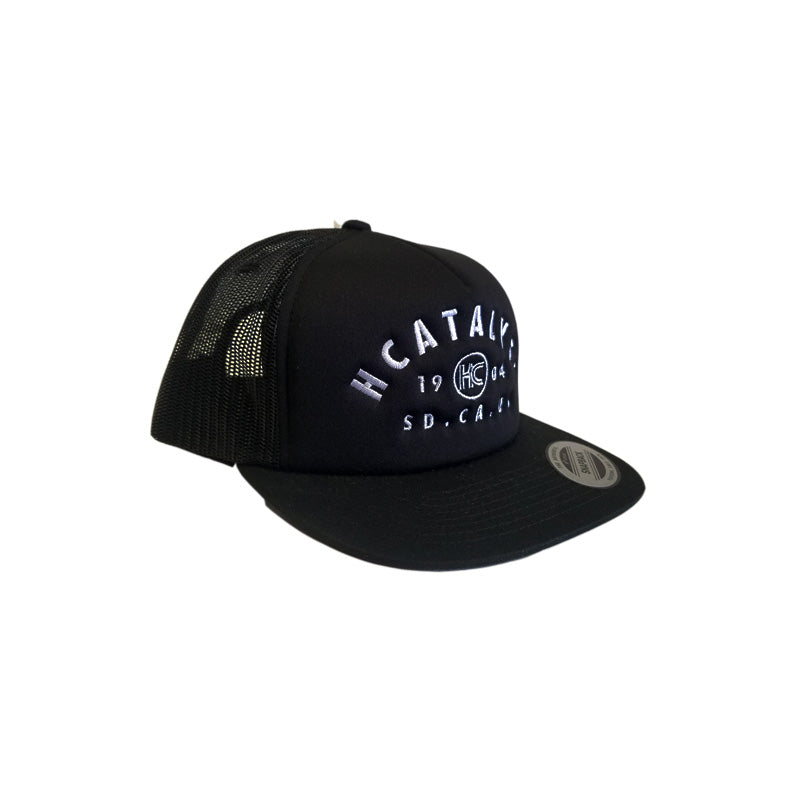 HOMEBASE - Mesh Trucker Black