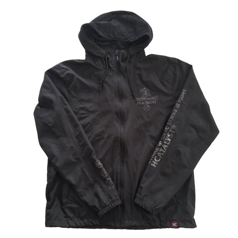 Optic Windbreaker - Black