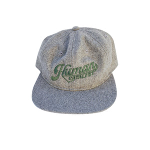 Angled Strap Back - Heather