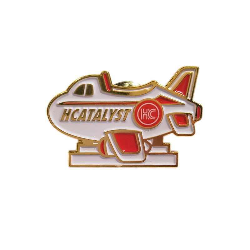 Shop Plane - Enamel Pin