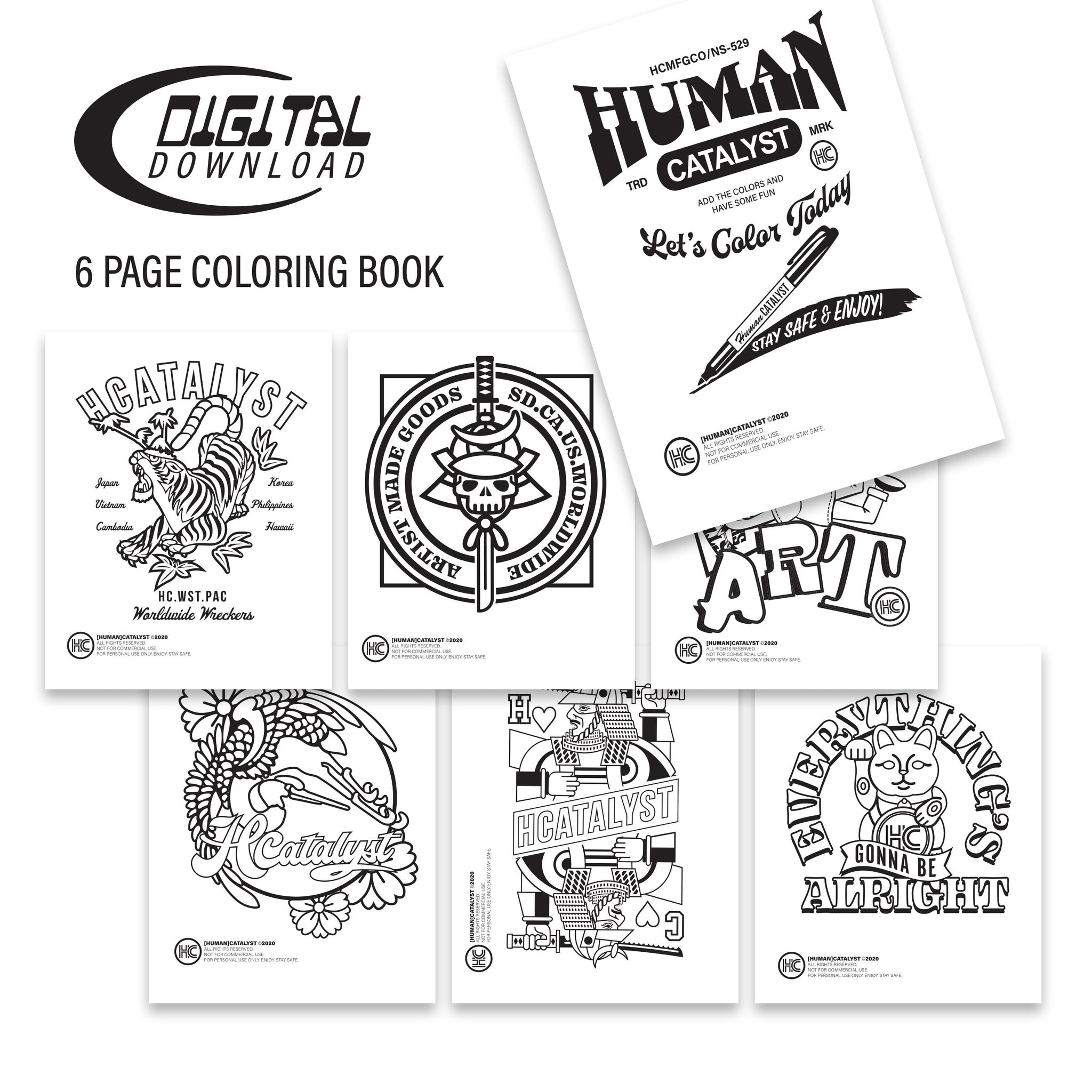 HC Digital Coloring Book