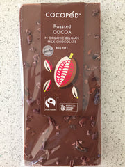Lindsay & Edmunds Cocopod Roasted Cocoa MILK chocolate - Organic Fairtrade