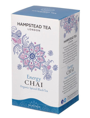 Hampstead Tea Energy Chai Tea 20 sachets
